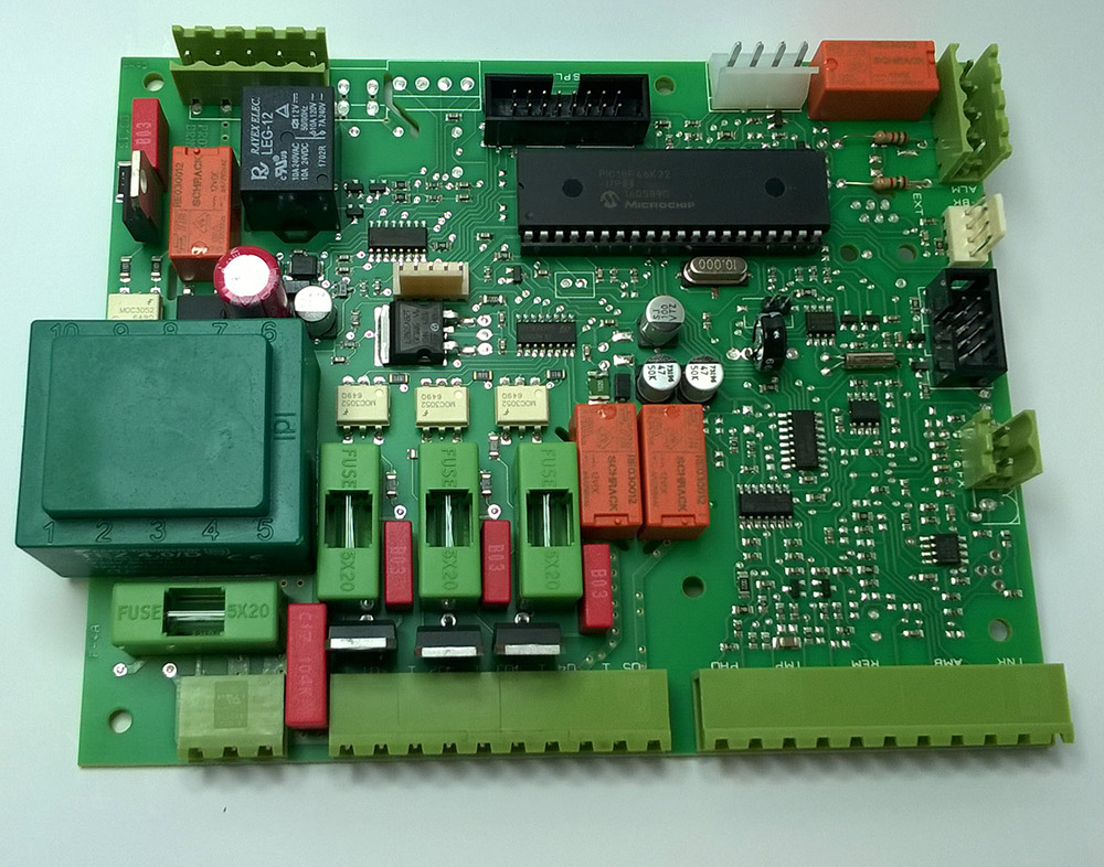Control board for pellet operated systems UniPelGD2