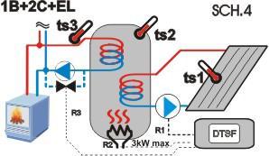 Termostat pentru instalatii solare si de incalzire 8
